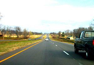 U.S. Route 68 - US 68 in Jessamine County, Kentucky