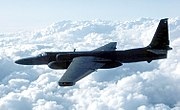 The Lockheed U-2, which first flew in 1955, provided much needed intelligence on Soviet bloc countries.