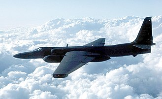 "Lockheed U-2 ""Dragon Lady"", the first generation of near-space reconnaissance aircraft Usaf.u2.750pix.jpg"