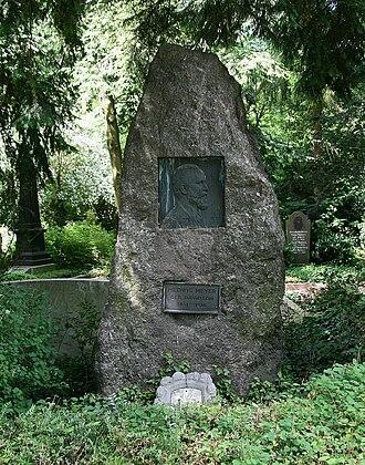 Viktor Meyer - His tomb in Heidelberg