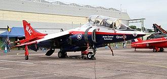 Shipborne rolling vertical landing - VAAC Harrier