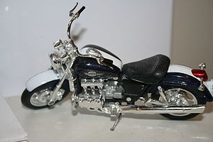 Die-cast toy - 1:24 Diecast Model of the Honda Valkyrie