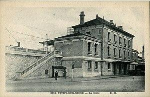 Vitry-sur-Seine (Paris RER) - Image: VITRY SUR SEINE LA GARE