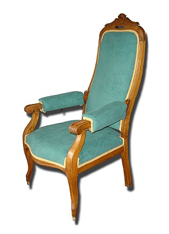 Cabriolet (furniture) - Image: VOLTAIRE Seat