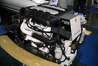 Turbocharged direct injection - Volkswagen Marine 3.0-litre V6 TDI 265-6 marine engine