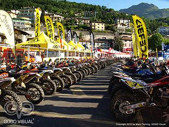 World Enduro Championship - Image: Valli Bergamasche 2010 Lovere holding area