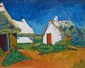 Three White Cottages in Saintes-Maries