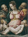 Vasari, Atelier de - Sainte Famille avec le petit saint Jean-Baptiste et saint François d'Assise.jpg