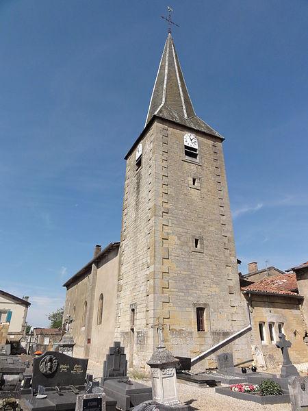 Vaudoncourt (Meuse) église