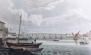 Vauxhall Bridge - Regent Bridge shortly after opening
