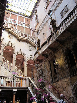 Hotel Danieli - Staircase of the palace