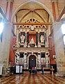 Venezia Basilica Santa Maria Gloriosa dei Frari Innen Denkmal des Dogen Giovanni Pesaro 1.jpg