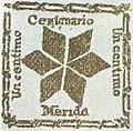 Venezuela - Merida - Local stamp 1881.jpg