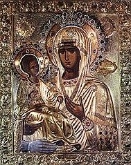 La Mère de Dieu aux trois mains