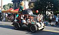 Vermont Mountaineers buggy Independence Day parade State Street downtown Montpelier VT July 2016.jpg
