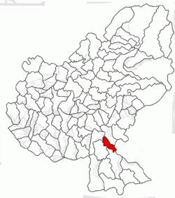 Vị trí của Vetca