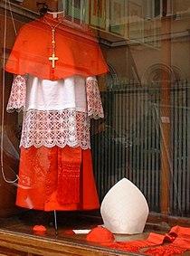 Vestments of a cardinal