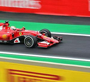 2015 Brazilian Grand Prix - Sebastian Vettel finished third for Ferrari.