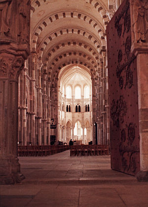 Vézelay - Vézelay Abbey