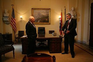 Vice Presidents Room room in the United States Capitol
