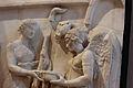 Victoire faisant une libation à Diane et Apollon, musée du Louvre, MR 869, detail.JPG