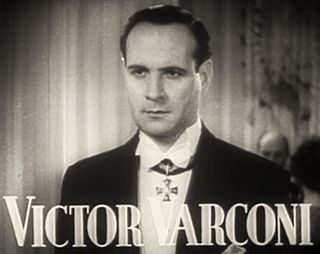 Victor Varconi Hungarian actor (1891-1976)