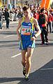 Vienna 2013-04-14 Vienna City Marathon - 54 Mihauk Krassilov, RUS, preparing.jpg