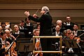 Vienna Philharmonic Orchestra, Carnegie Hall, conducted by Michael Tilson Thomas (32369274437).jpg