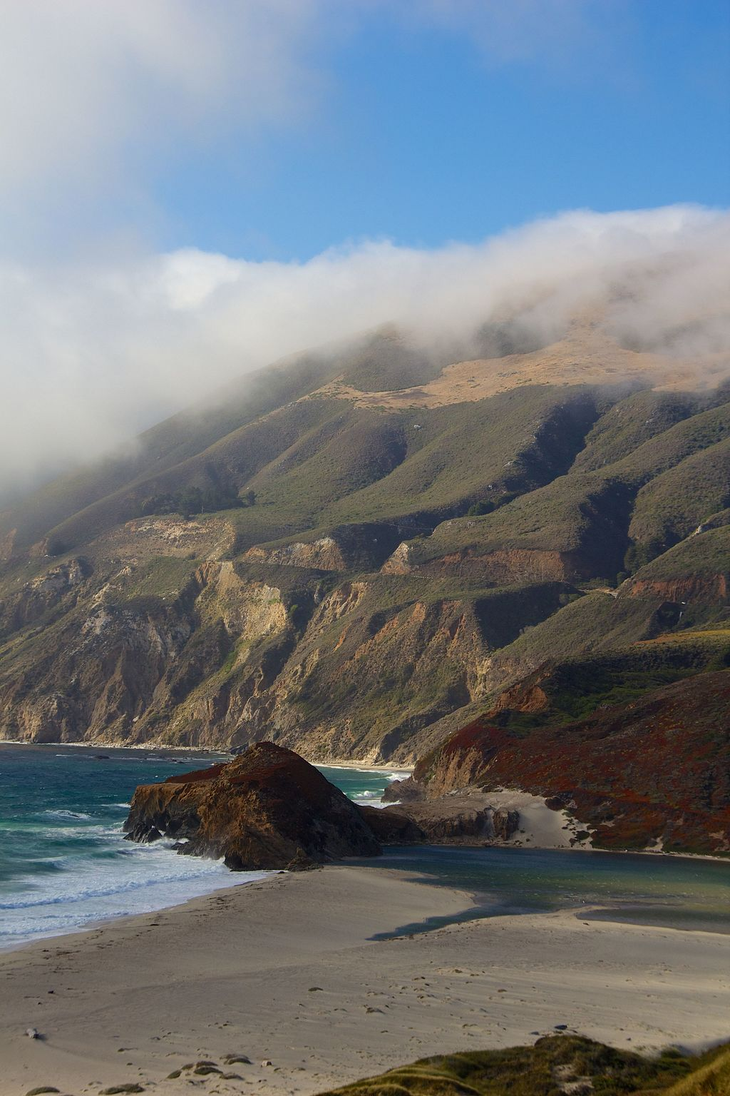 View from Highway 1, California 21