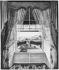 View from the House of Henry Briscoe Thomas, Baltimore