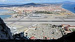 View of Gibraltar Airport from the Great Siege Tunnels 20121020 104929.jpg