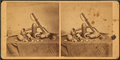 View of bayonet, Shells and other war relics, by R. M. & J. B. Linn.png