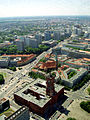 View over Rotes Rathaus from Berlin TV tower.jpg