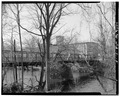 View south, side elevation - Albion Bridge, School Street, Spanning Blackstone River, Cumberland, Providence County, RI HAER RI,4-CUMB,4-5.tif