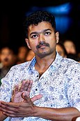 Vijay at Puli Audio Launch.