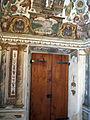 Villa medici, studiolo del cardinale, porta.JPG