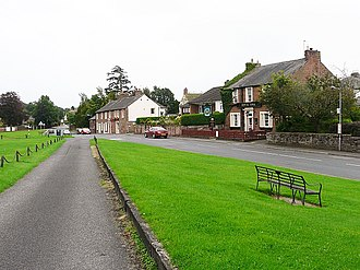 Scotby - Image: Village green, Scotby (geograph 2622923)