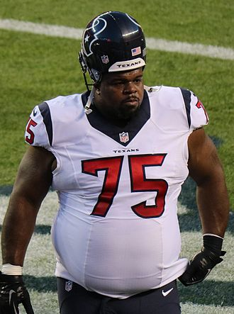 Vince Wilfork - Wilfork with the Houston Texans.