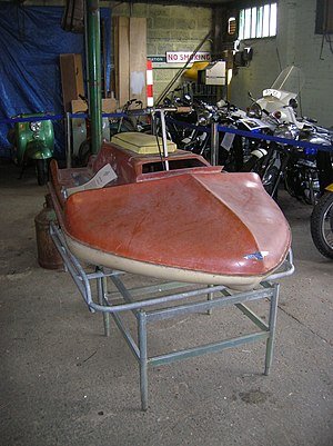 Personal water craft - Vincent Amanda at the London Motorcycle Museum