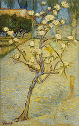 Vincent van Gogh: Small pear tree in blossom