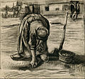 Vincent van Gogh - Peasant Woman Planting Potatoes - Google Art Project.jpg