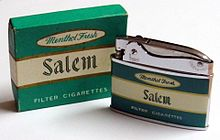 Vintage Salem Cigarette Lighter by Penguin, No. 18250, Made in Japan (10254920323).jpg