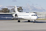 Virgin Australia Regional Airlines (VH-FWH) Fokker 100 on taxiing at Wagga Wagga Airport (2).jpg