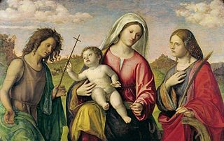 Virgin and Child with St. Catherine and St. John the Baptist