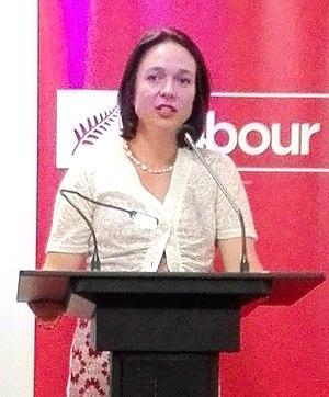 Ginny Andersen - Andersen speaking in 2017