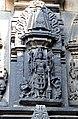 Vishnu Statue in relief art Chennakeshava temple, Belur(8).jpg