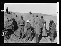 Visit of H.R.H. the Crown Prince of Sweden in December 1934. The Prince with High Commissioner seeing a Jericho excavation with Prof. Garstang LOC matpc.18632.jpg