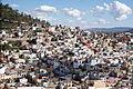 Vista de casas desde el teleférico de Zacatecas.JPG