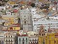 Vista desde un lugar alto en Guanajuato, basílica de León parte 3.JPG
