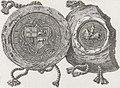 Vitaŭt Vialiki, Pahonia. Вітаўт Вялікі, Пагоня (K. Kielisiński, 1404, 1841).jpg